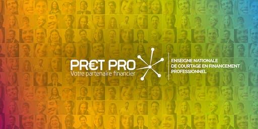 PRET PRO - Journée découverte - 28 Octobre 2019 de 13h00 à 16h00