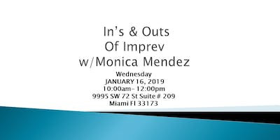 RWSF KENDALL-IN'S & OUTS OF IMPREV w/MONICA MENDEZ