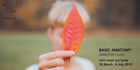 BASIC ANATOMY - SEMESTER KURS tickets