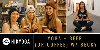 Yoga + Beer (or Coffee) at Forest City with Becky