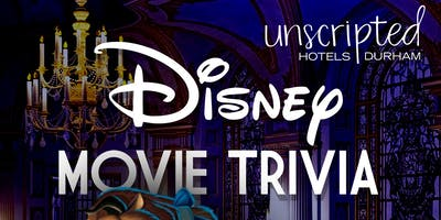 Disney Movie Trivia at Unscripted