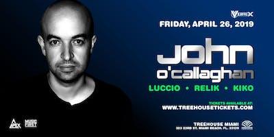 John O'Callaghan @ Treehouse Miami