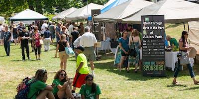 Stroll Through Arts in the Park Craft & Vendor Fair