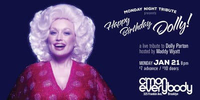 Happy Birthday, Dolly!