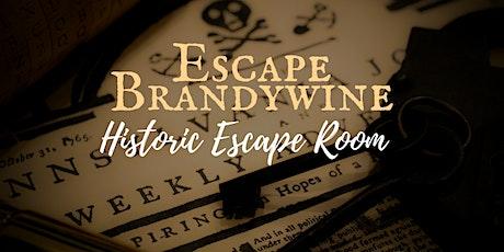"""Escape Brandywine"" Historic Escape Room Experience tickets"