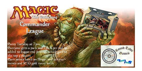 Magic: The Gathering: Commander League 2019 tickets