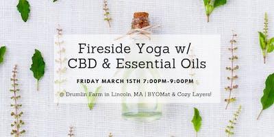 Fireside Yoga w/ CBD & Essential Oils