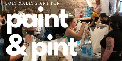 Paint & Pint at Angel City Brewery