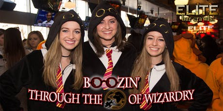 Boozin' Through The World of Wizardry | Raleigh, NC tickets