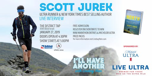 I'll Have Another with Lindsey Hein Podcast Live with Scott Jurek