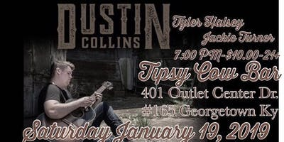 Dustin Collins with Special Guest Tyler Halsey and Jackie Turner, Live