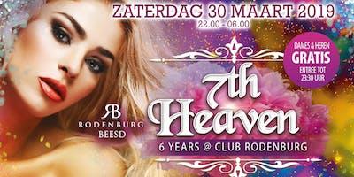 7th Heaven - 6 Years @ Club Rodenburg