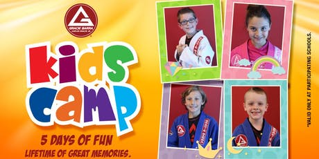 2019 Kids Summer Camp - Session 2 - Gracie Barra Centennial Jiu-Jitsu tickets