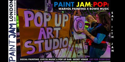 PAINT JAM POP! Warhol x Bowie