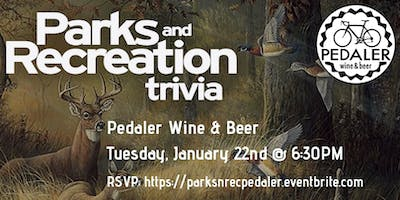 Parks and Rec Trivia at Pedaler Wine & Beer