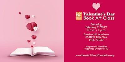 Valentine Book Art Class