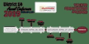 Vendor Registration: D14 Annual Conference 2019