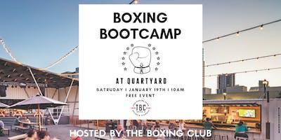 FREE TBC BOXING BOOTCAMP