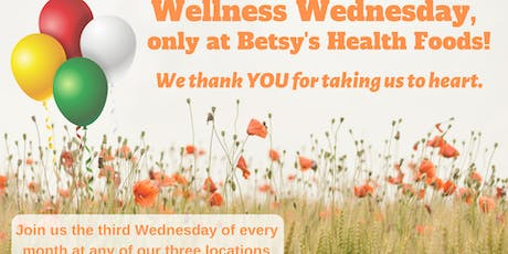 BetsyHealth Wellness Wednesday at Champion Forest tickets