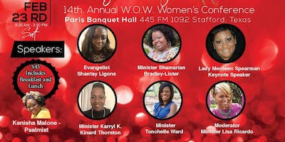 "WOW 2019 Women's Conference "" It's In My DNA"""