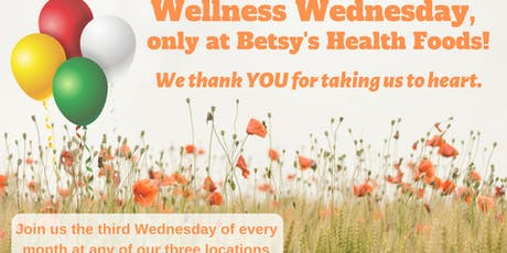 BetsyHealth Wellness Wednesday at Fallbrook tickets
