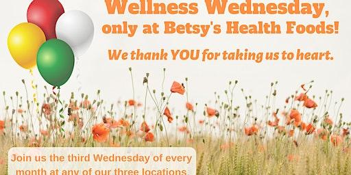 BetsyHealth Wellness Wednesday at Cypresswood