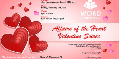 Affairs of the Heart Valentine Soiree