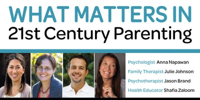 What Matters in 21st Century Parenting?