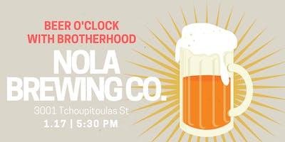 Brotherhood Happy Hour at Nola Brewing Co.