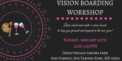 Vision Boarding Workshop with Great Shoals Winery