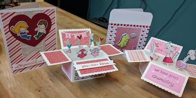 Card Making Workshop, Valentine edition