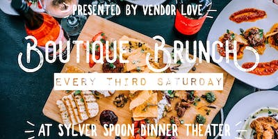 Boutique Brunch and Wine Tasting every third Saturday at Sylver Spoon