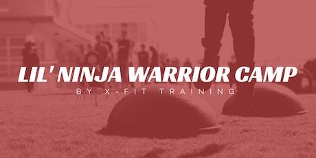 Lil' Ninja Warrior Camp tickets