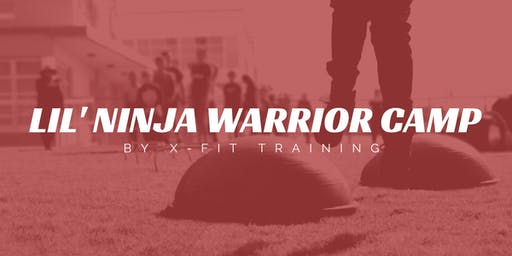 Lil' Ninja Warrior Camp