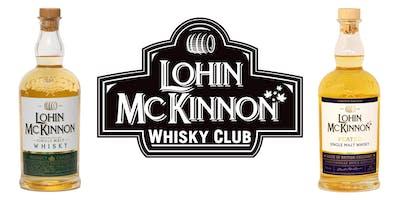 Lohin McKinnon Whisky Tasting January 24 2018