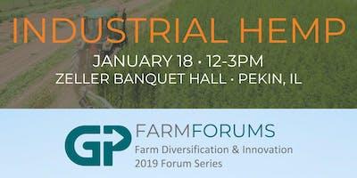 2019 Greater Peoria Hemp Forum