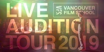 VFS Acting Program Live Audition   Calgary