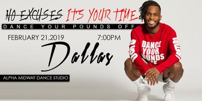 Dance Your Pounds Off Dallas (No Excuses, It's Your Year) Friday!