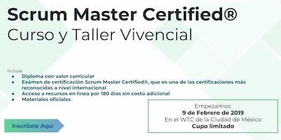 Curso y Taller Vivencial Scrum Master Certified by Reenfoque