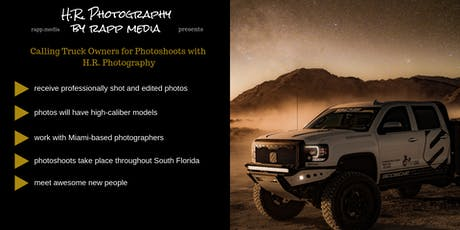 Use Your Truck for Professional Photoshoots tickets
