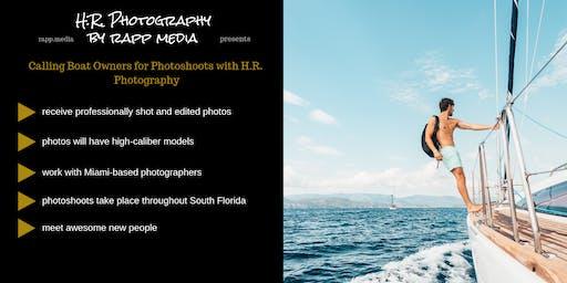 Use Your Marine Vehicle for Professional Photoshoots