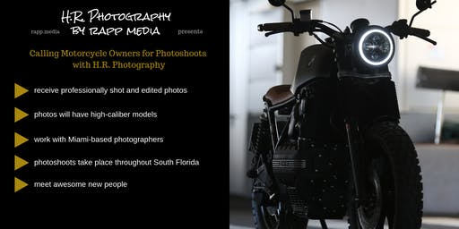 Use Your Motorcycle/ATV for Professional Photoshoots