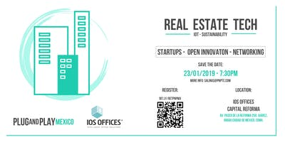 INNOVATION REAL ESTATE TECH by Plug And Play México