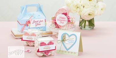 Be My Valentine Card Making