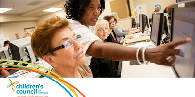 Early Educator Workshop: CA Workforce Registry (Registro del Personal de Cuidado y Educación Temprana de California en ESPAÑOL) 20190117