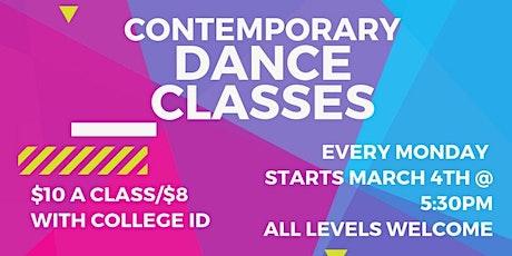 Contemporary Dance Class tickets