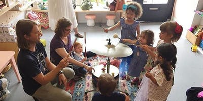 Playing With Music presents: Family Musique Ages 0-5 Jan/Feb Session