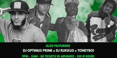 ToneyBoi Presents:Buffalo Boiler Room Session 13 Tone K Bday featuring ETO