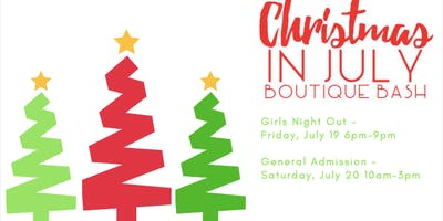 Christmas in July Boutique Bash