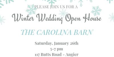 The Carolina Barn Winter Wedding Open House